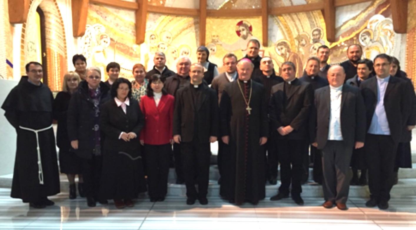 Ciofliceni, 11-13.11.2016: Întrunirea reprezentanţilor învăţământului catolic din România