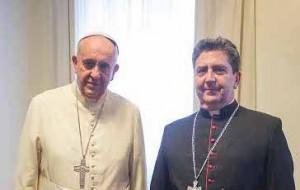 mons Buendia & Papa Francisc